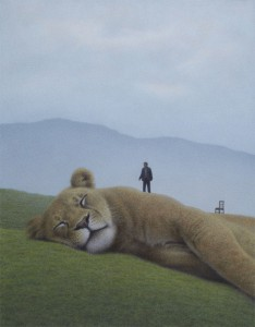 Schlafendes Tier - Sleeping Animal - 2012